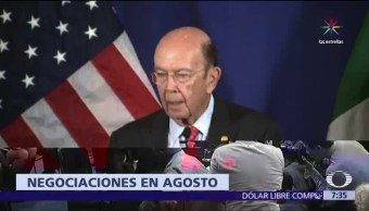 agosto, renegociación, Tratado de Libre Comercio, Estados Unidos, México, Canadá