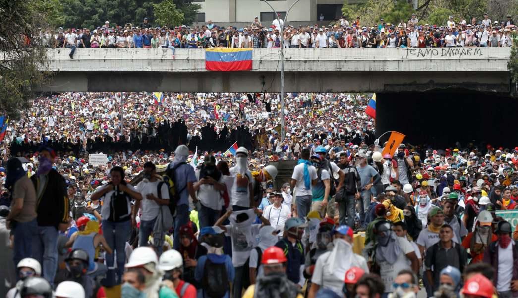 Venezuela, dirigente, estudiantes, protestas, Nicolás Maduro, violencia,