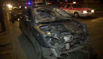 El conductor fue presentado al Ministerio Público (Noticieros Televisa)