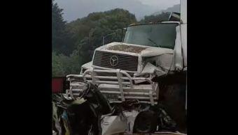 Camión, Accidente, Tránsito, Sin Frenos