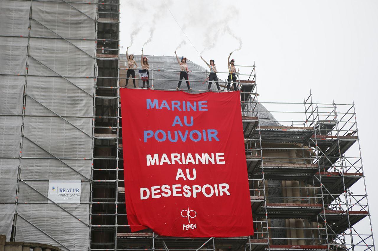 Activistas vuelven a manifestarse contra Le Pen — Elecciones Francia
