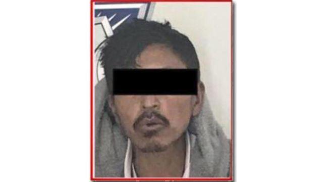 Presunto agresor de una familia en la México Puebla