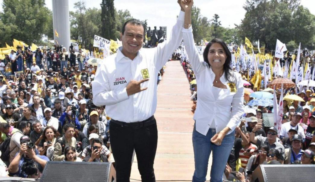 Alejandra Barrales pide a oposición que apoye a Juan Zepeda