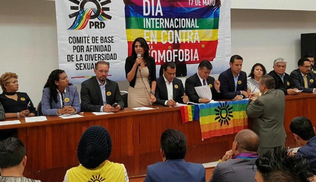 Alejandra Barrales, líder nacional del PRD