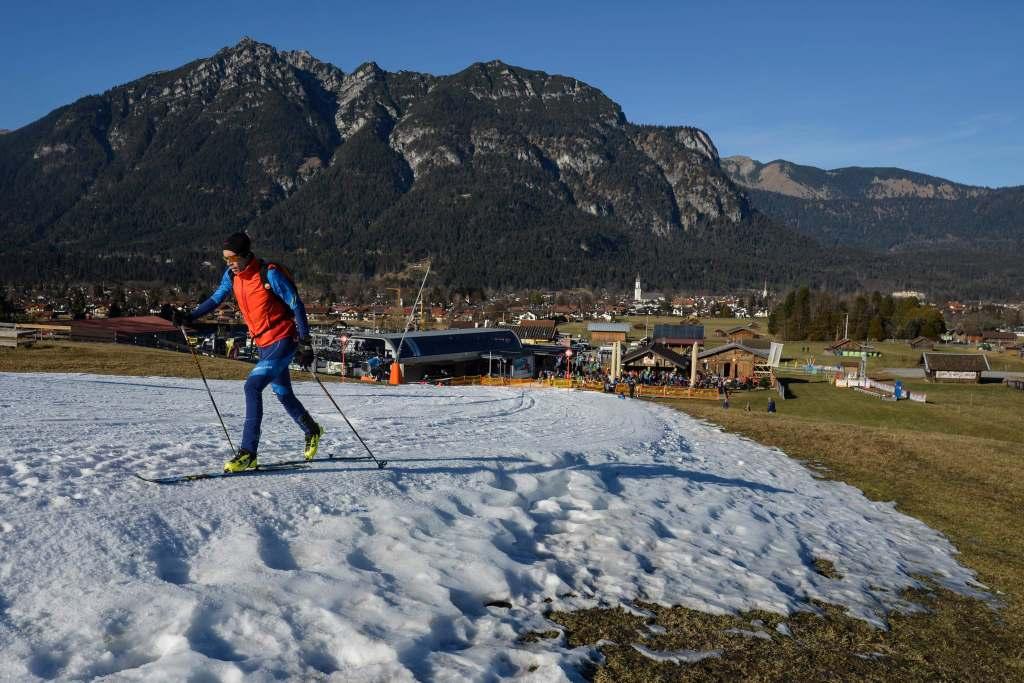 Nieve alpes suizos