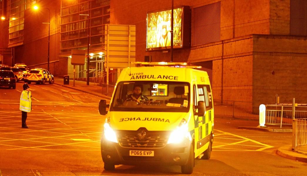 heridos, ambulancia, manchester arena, inglaterra, terrorismo, concierto de ariana grande,