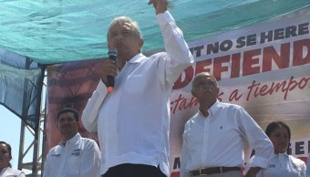 AMLO critica alianza del PAN y PRD en Nayarit