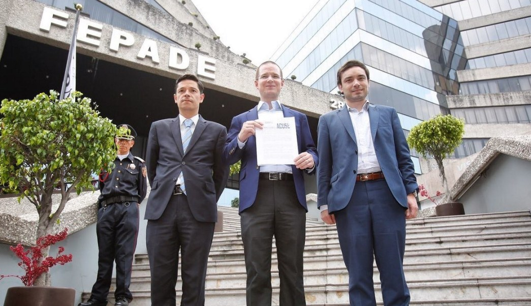 Ricardo Anaya, presidente del PAN, Fepade, denuncia,