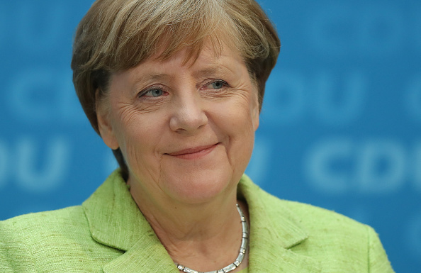 Angela Merkel canciller federal de Alemania