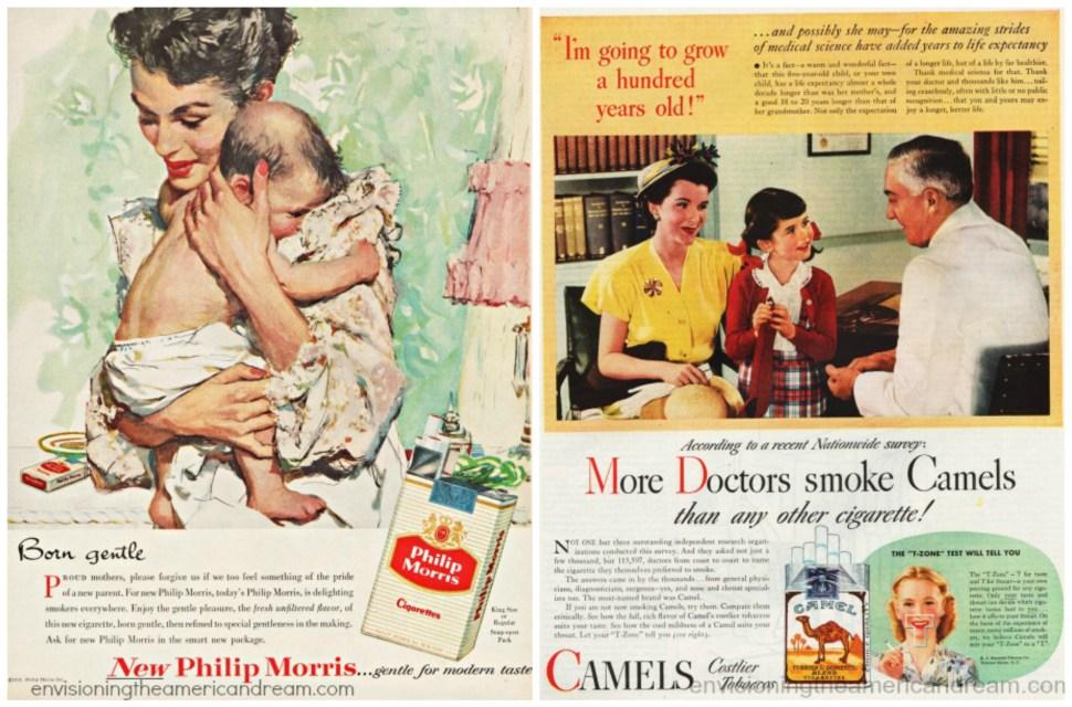 Anuncios cigarros salud doctores