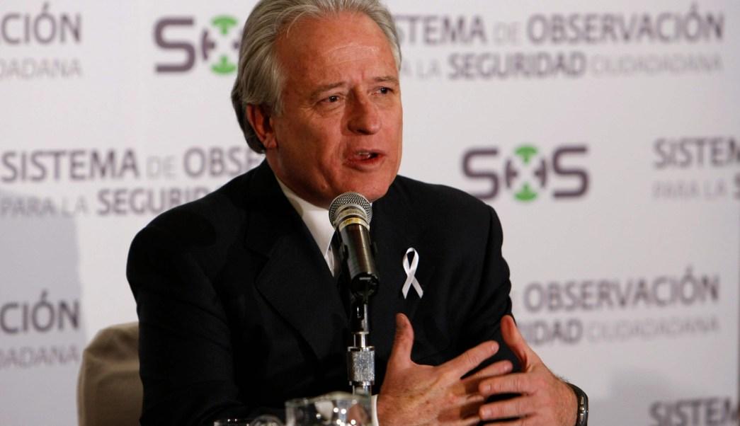 Alejandro Martí, presidente de México SOS, (AP Archivo)