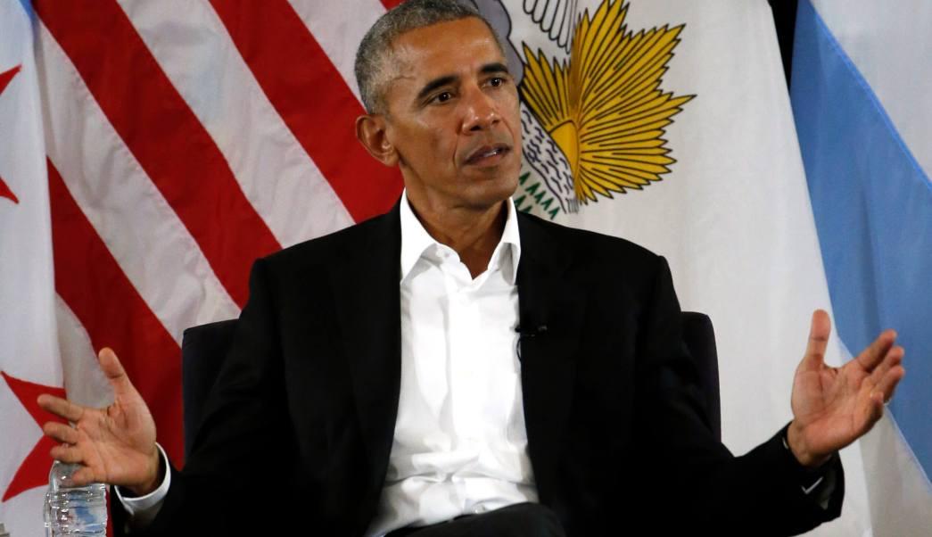 El ex presidente Barack Obama. (AP)