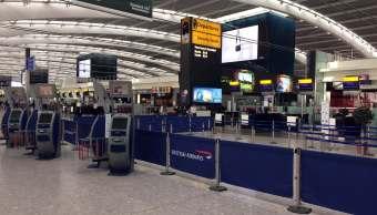 Aeropuerto de Heathrow, Londres, vuelo, British Airways. (AP)