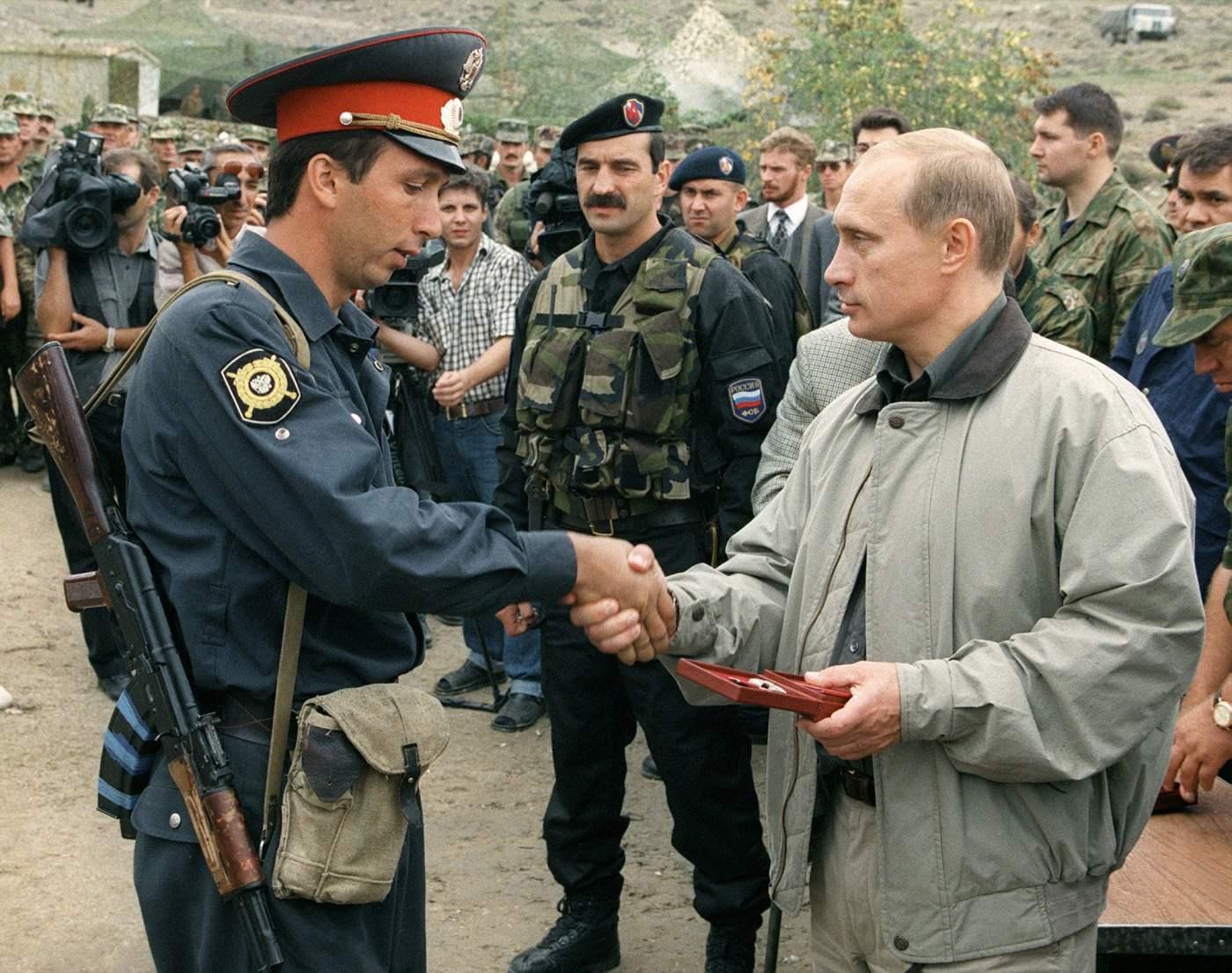 Putin Rusia Poder
