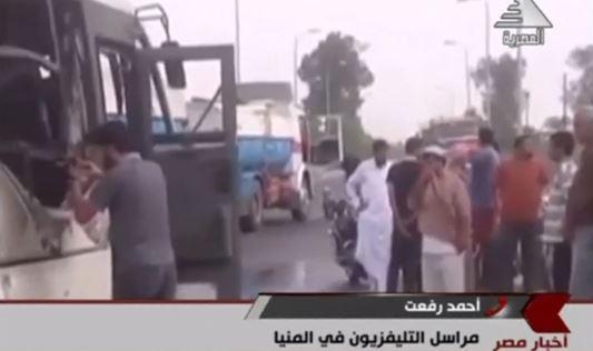Ataque a camión de cristianos coptos en Egipto