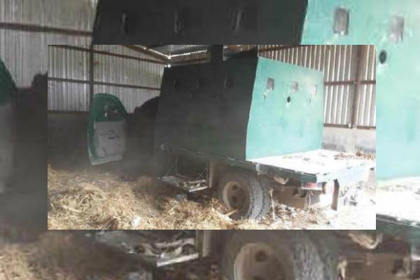 Vehiculo con blindaje artesanal es hallado en Tamaulipas