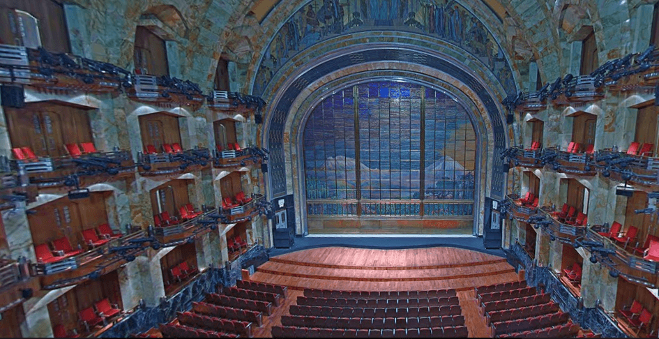 El Palacio de Bellas Artes en la Ciudad de México