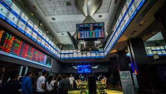 Desplome de acciones en la Bolsa de Sao Paulo
