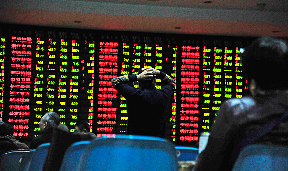 China, Bolsa de China, Asia, Tablero electrónico, Acciones, Inversiones