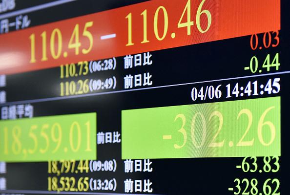La Bolsa de Tokio cerró operaciones con baja de 4.27 puntos