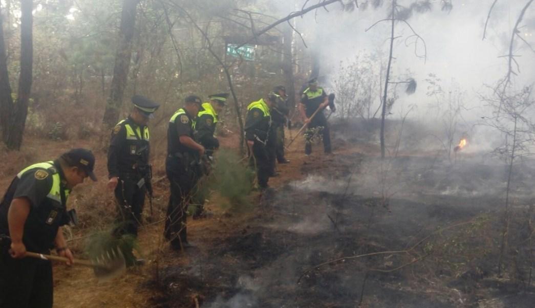 Suman 85 incendios forestales en Valle de Bravo. (Twitter: @CESC_Edomex/Archivo)