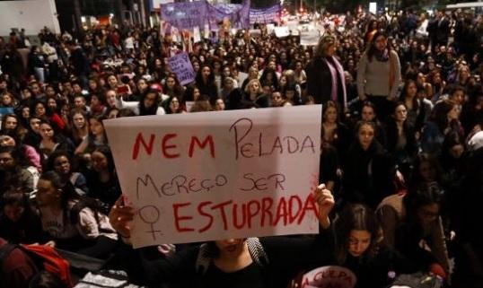 Brasil, violación, redes sociales, colectiva, crimen, investigan,