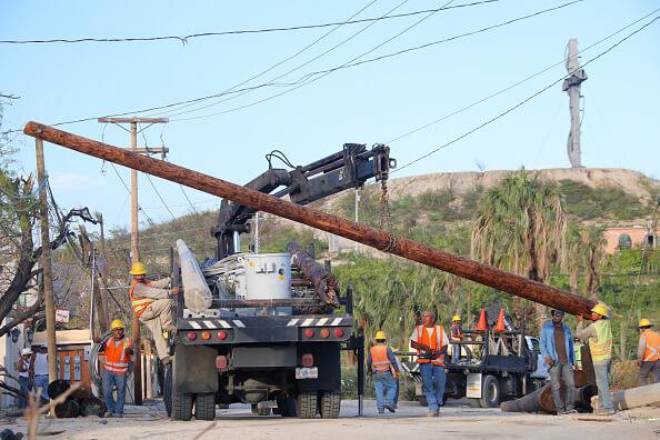 CFE, luz, apagón, suministro de energía, Tamaulipas