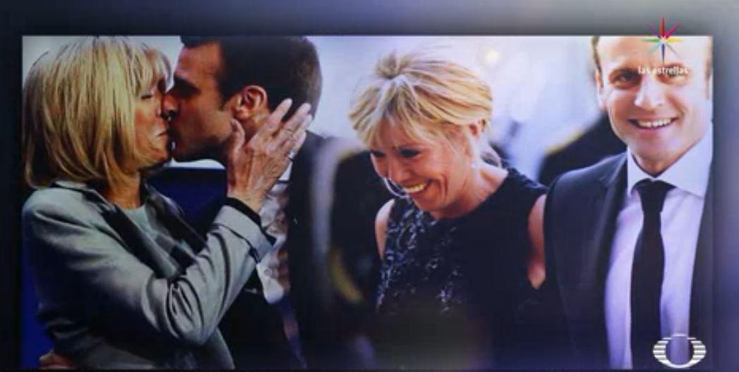 Brigitte, la esposa y exmaestra de Emmanuel Macron, presidente de Francia