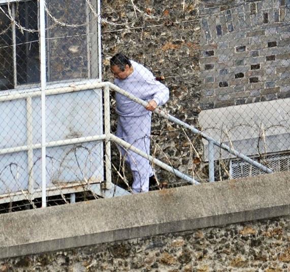 El ex dictador panameño, Manuel Noriega, en prisión en 2010 (Getty Images)