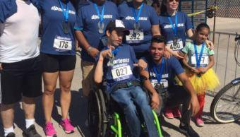 Carrera, Prestame tus piernas, Sonora, Discapacidad, Noticias, Noticieros Televisa