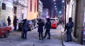 Fuerzas federales catean una vecindad en el Centro de la CDMX