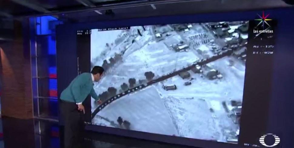 Cerca de 148 camiones de carga hacen fila para abastecerse en la toma clandestina