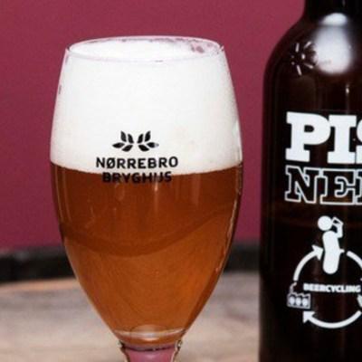 Dinamarca crea cerveza con 50 mil litros de orina humana