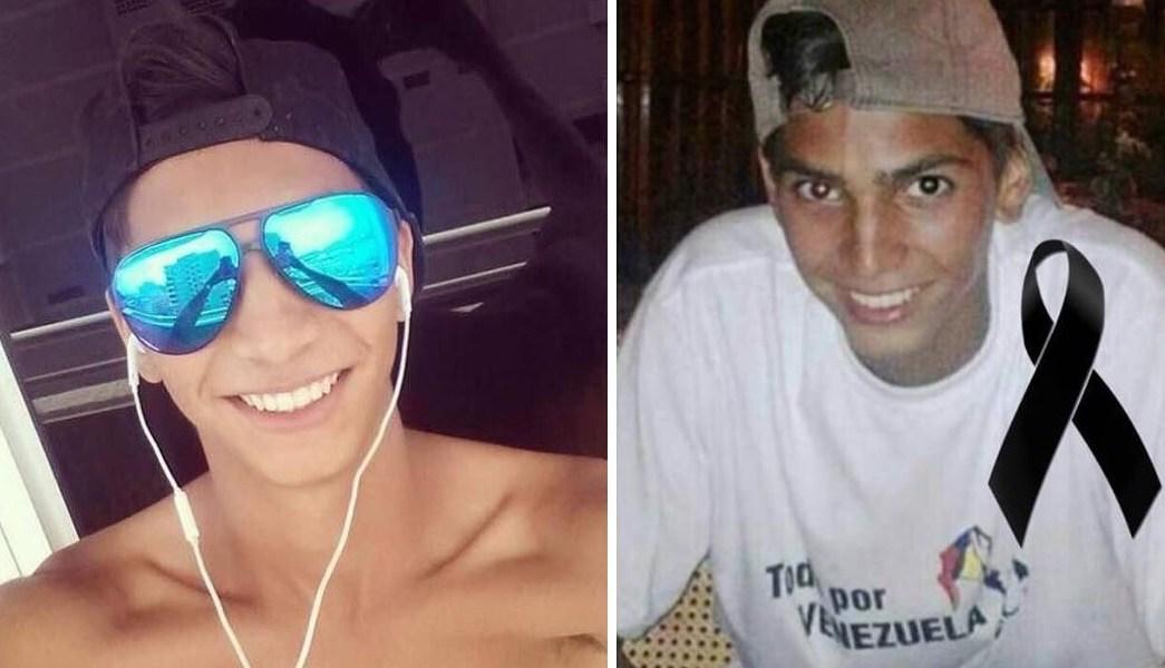 Mueren joven, César David Pereira Villegas,, venezuela, protestas, venezolano