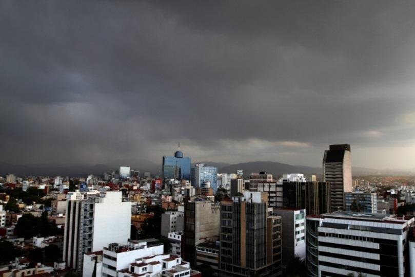 El Servicio Meteorológico Nacional prevé lluvias para el Valle de México (Notimex)