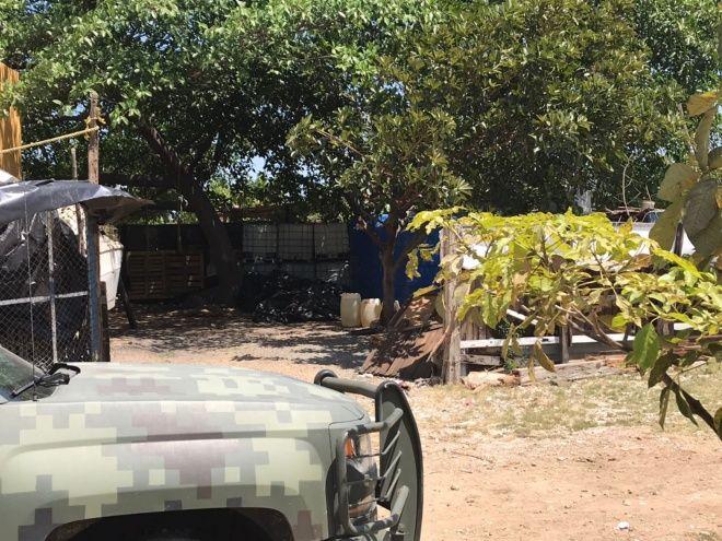 Sitian domicilio por toma clandestina de combustible en Mazatlán, Sinaloa