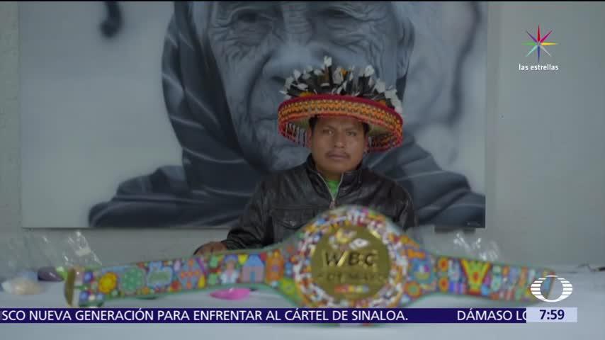 Cinturon huichol, Cinturon Canelo Chavez Jr, Pelea Canelo, Pelea Chavez Jr