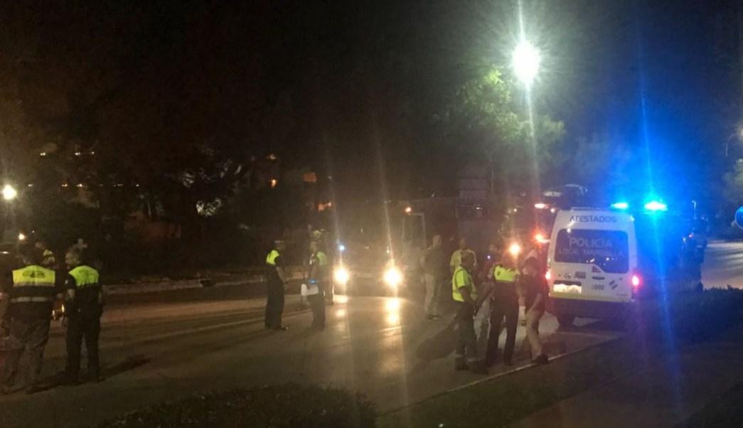 conductor ebrió, conductor atropella, españa, ambulancia españa