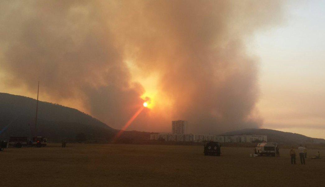 Contingencia atmosférica en Jalisco por incendio forestal