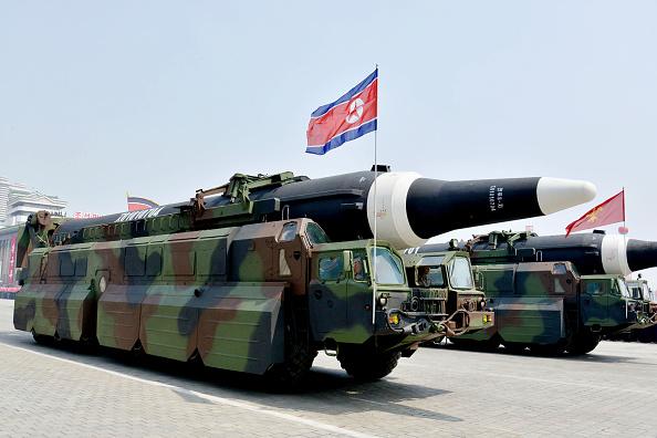 Con este lanzamiento, Corea del Norte volvió a desafiar los llamados para que reduzca su programa armamentista (Getty Images)