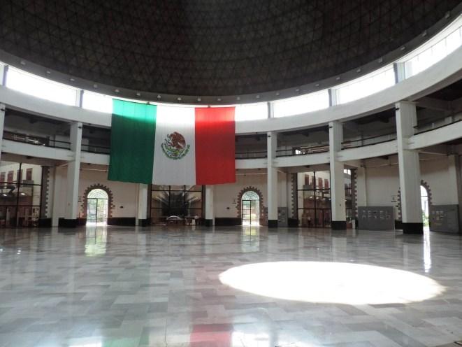 Cúpula, Archivo General de la Nación), Palacio Lecumberri, bandera