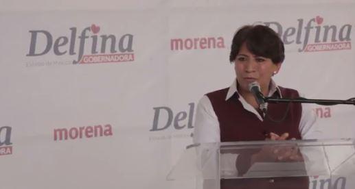 Delfina Gómez califica como absurdas las acusaciones en su contra