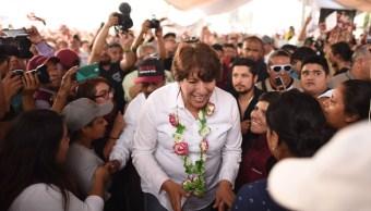 Delfina gómez, morena, estado de México, política, elecciones, ine
