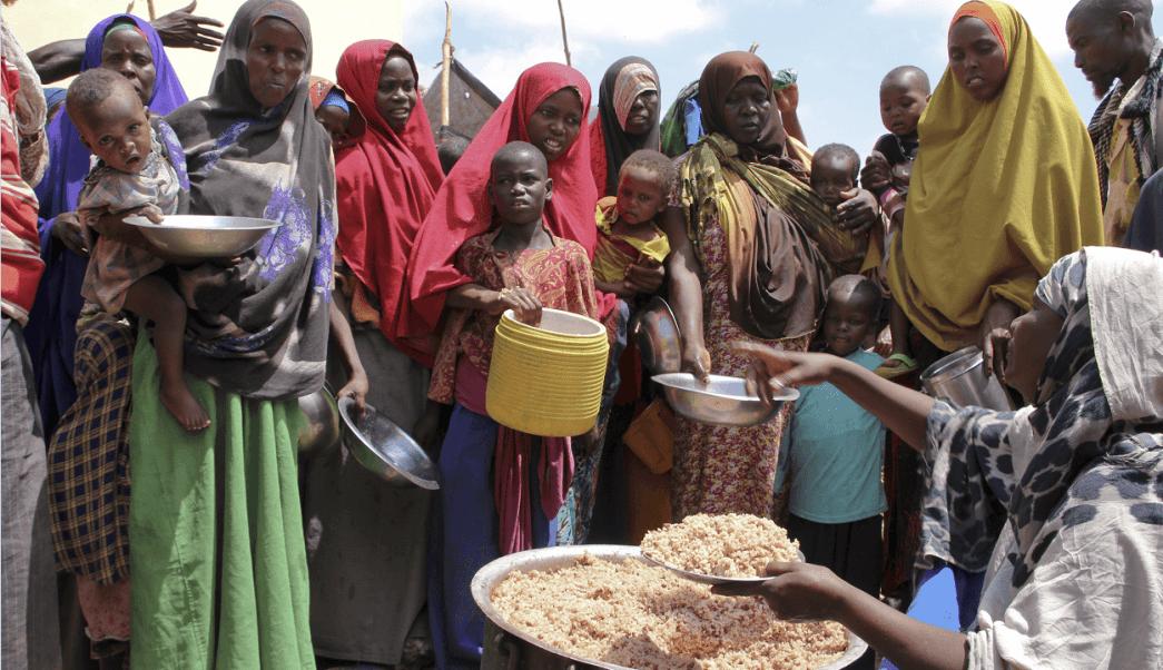 Desplazados en Somalia a causa de la violencia