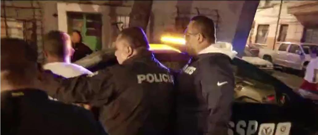Detienen a ladrones de autopartes en CDMX