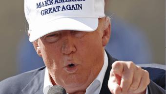 Donald Trump durante su campaña presidencial en junio de 2016