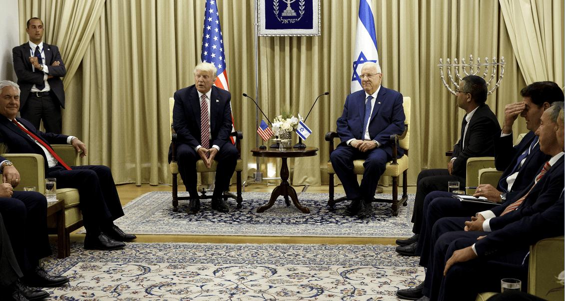 Donald Trump, Reuven Rivlin, Israel, Estados Unidos,