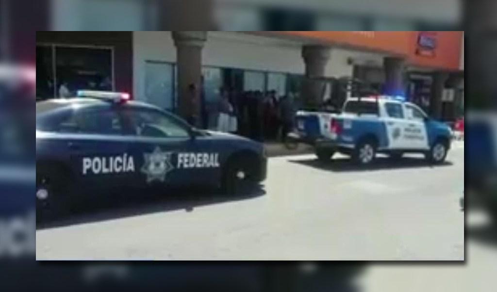 Patrullas de la Policía Federal en Reynosa, Tamaulipas