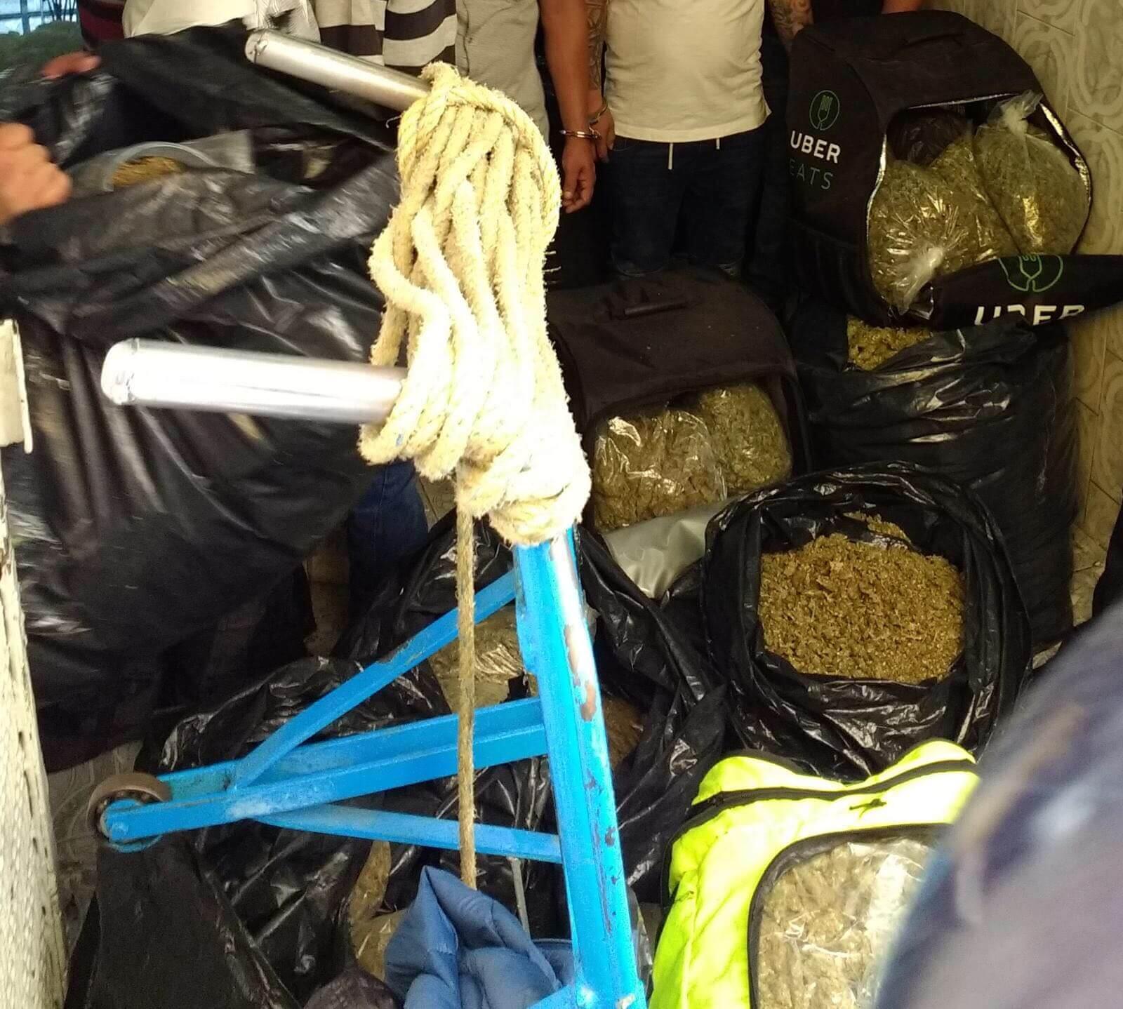 Alertan por distribución de droga en UberEats