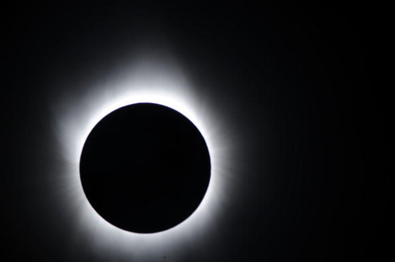 Eclipse solar del 22 de julio de 2009 en la isla de Iwojima, Japón (Getty Images)